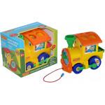 Развивающая игрушка Полесье занимательный паровоз (в коробке). Арт. 5977 Полесье