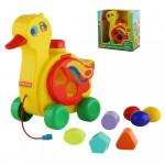 Детская развивающая игрушка сортер «Уточка-несушка» (в коробке) Cavallino. Арт. 6042 Полесье
