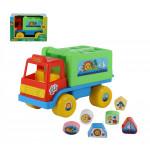 """Развивающая игрушка сортер грузовик """"Забава"""" (в коробке) Cavallino. Арт. 5984 Полесье"""