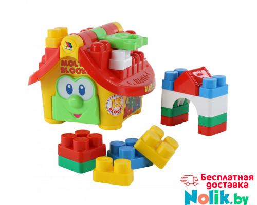 Развивающий набор «Маленький строитель» (в сеточке) Molto. Арт. 9646 Полесье в Минске