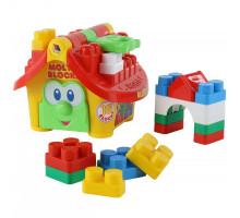 Развивающий набор «Маленький строитель» (в сеточке) Molto. Арт. 9646 Полесье