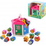 Развивающая игрушка Полесье логический домик (в коробке). Арт. 6011