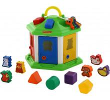 Детский набор логический домик №2 (в сеточке). Арт. 62307 Полесье