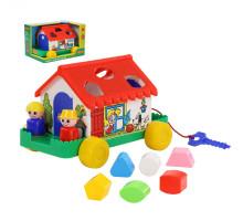 Развивающая игрушка-сортер Игровой дом (в коробке). Арт. 6028 Полесье