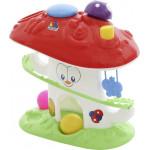 Развивающая игрушка «Забавный гриб» (в сеточке), Molto. Арт. 47892 Полесье