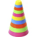 Детская развивающая Занимательная пирамидка (10 элементов), h=175 мм. Арт. 35042 Полесье