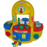 Игрушечный набор «Мастерская» (в пакете) для малышей до 3-х лет Palau Toys. Арт. 6690 Полесье