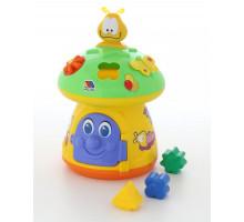Детский игровой центр пазл «Большой гриб» Molto. Арт. 1038 Полесье