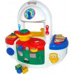 Детский набор «Кухня» (в пакете) развивающий для малышей до 3-х лет Palau Toys. Арт. 6454 Полесье