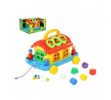 Развивающая игрушка Полесье Сказочный домик на колёсиках (в коробке). Арт. 70999 Полесье