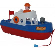"""Детская игрушка катер """"Спасатель"""" арт. 47229. Полесье"""