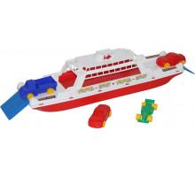 """Игрушка для детей паром """"балтик"""" + автомобиль """"Мини"""" (4 шт) арт. 56689. Полесье"""