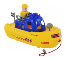 """Детская игрушка катер скорая помощь """"патруль"""" (NL) (в сеточке) арт. 71156. Полесье"""