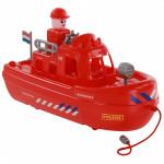 """Игрушка для детей катер пожарный """"патруль"""" (NL) (в сеточке) арт. 71132. Полесье"""