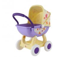 """Коляска для кукол """"Arina №2"""" 4-х колёсная (в пакете) цвет бежевый арт. 48219. ПОЛЕСЬЕ"""