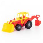Игрушка Полесье трактор-экскаватор Алтай Цвет красный арт. 35394