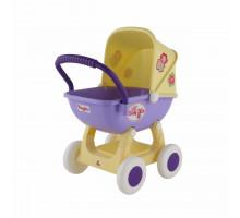 """Коляска для кукол """"Arina"""" 4-х колёсная (в пакете) цвет бежевый арт. 48202. ПОЛЕСЬЕ"""