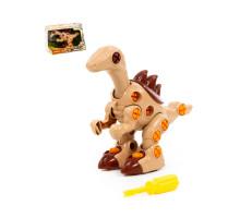 """Игрушка для детей конструктор-динозавр """"Велоцираптор"""" (36 элементов) (в коробке) арт. 76809. Полесье"""