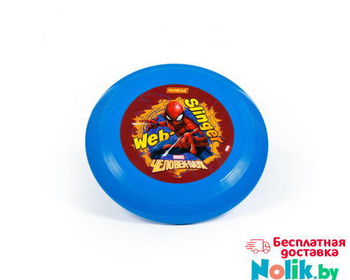 """Игрушка для детей летающая тарелка MARVEL """"Человек-паук ..."""