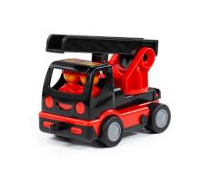 """Игрушка для детей """"MAMMOET"""" - """"Мой первый автомобиль пожарный"""" (в сеточке) арт. 77356. Полесье"""