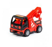 """Детская игрушка  """"MAMMOET"""" - """"Мой первый автомобиль-эвакуатор"""" (в сеточке) арт. 77349. Полесье"""