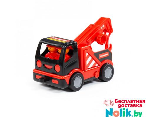 """Детская игрушка  """"MAMMOET"""" - """"Мой первый автомобиль-эвакуатор"""" (в сеточке) арт. 77349. Полесье в Минске"""
