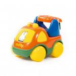 """Игрушка для детей Автомобиль-эвакуатор """"Миффи"""" №1 (в сеточке) арт. 77431. Полесье"""