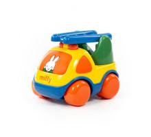 """Детская игрушка  автомобиль-пожарная спецмашина """"Миффи"""" №2 (в сеточке) арт. 77424. Полесье"""