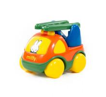 """Автомобиль для детей пожарная спецмашина """"Миффи"""" №1 (в сеточке) арт. 77417. Полесье"""
