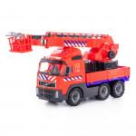 """Детская игрушка  """"Volvo"""", автомобиль пожарный (NL) (в сеточке) арт. 77301. Полесье"""