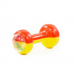 """Игрушка для детей погремушка """"Гантелька"""" арт. 61836. Полесье"""