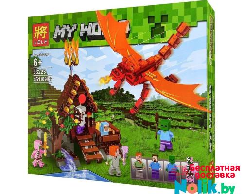 Конструктор Майнкрафт Крепость 461 деталь, аналог Лего Minecraft. Арт. 33223 в Минске