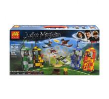 Конструктор Гарри Поттер Матч по квиддичу 540 деталей, аналог Лего 75956 Арт. 39147