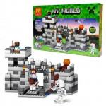 Конструктор Майнкрафт Lele Крепость, 292 деталей, аналог Лего Minecraft Арт. 33006