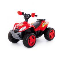 """Детский электромобиль квадроцикл """"Molto Elite 3"""", 6V Полесье Арт. 35905"""