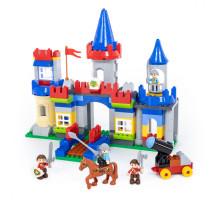 """Конструктор """"Макси"""" - """"Замок"""" (169 элементов) (в коробке). Совместим с Лего Дупло (LEGO Duplo). арт. 77639. Полесье"""