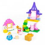 """Конструктор """"Макси"""" - """"Весёлая принцесса"""" (50 элементов) (в коробке). Совместим с Лего Дупло (LEGO Duplo). арт. 77714. Полесье"""