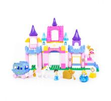 """Конструктор """"Макси"""" - """"Весёлая принцесса"""" (146 элементов) (в коробке). Совместим с Лего Дупло (LEGO Duplo). арт. 77684. Полесье"""
