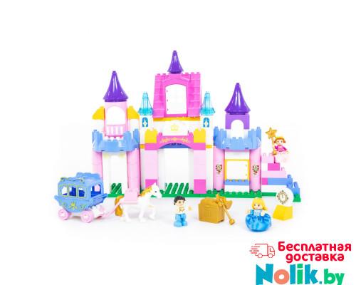 """Конструктор """"Макси"""" - """"Весёлая принцесса"""" (146 элементов) (в коробке). Совместим с Лего Дупло (LEGO Duplo). арт. 77684. Полесье в Минске"""