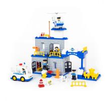 """Конструктор """"Макси"""" - """"Полицейский участок"""" (94 элемента) (в коробке). Совместим с Лего Дупло (LEGO Duplo). арт. 77530. Полесье"""