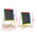 Доска для рисования деревянная магнитная двухсторонняя, с мелками, маркером и стеркой, размер поля для рисования 35x30 см. Арт.24832-1/903TC в Минске