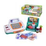 Детская игровая интерактивная касса Мой магазин с набором продуктов , подсветкой и музыкой Joy Toy, Арт. 7254