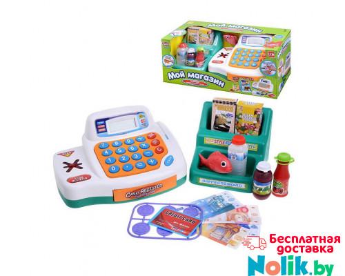 Детская игровая интерактивная касса Мой магазин с набором продуктов , подсветкой и музыкой Joy Toy, Арт. 7254 в Минске