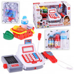 Детская касса со сканером, продуктами и микрофоном Play Smart, Арт. 2294