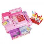 Детская касса со сканером и набором продуктов, звуковые и световые эффекты. Арт. 2338B