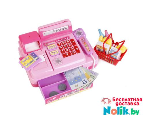 Детская касса со сканером и набором продуктов, звуковые и световые эффекты. Арт. 2338B в Минске
