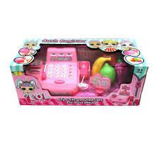Детская касса LOL (Лол) со сканером и набором продуктов, звуковые и световые эффекты. Арт. DN700LO