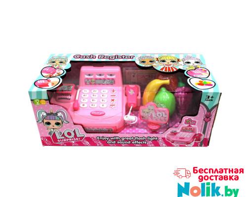 Детская касса LOL (Лол) со сканером и набором продуктов, звуковые и световые эффекты. Арт. DN700LO в Минске