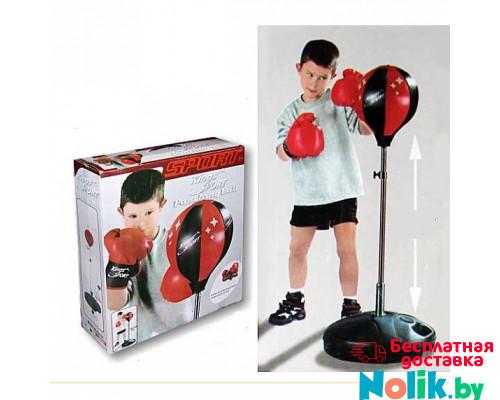 Набор для бокса детский груша напольная и перчатки king sport высота 80-110 см. Арт.143881/1 в Минске