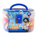 Детский набор Маленький доктор с аксессуарами, 14 предметов в чемоданчике. Арт. 5668-1